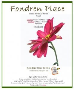 fondren-place-official-site